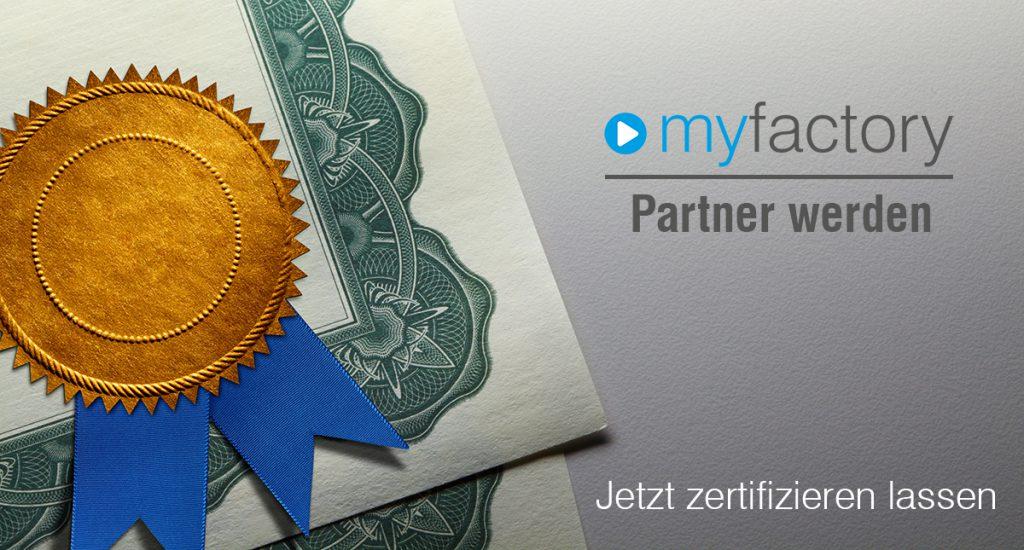Mit dem Zertifizierungsprogramm unterstreicht Myfactory seinen Ansatz, im Channel verstärkt auf Qualität und weniger auf Quantität zu setzen. (Quelle: Myfactory)